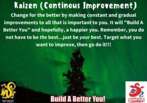 QMA - Adult - Kaizen Continuous Improvement - NSJJ Branded