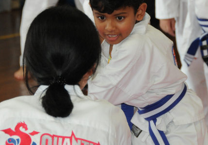 QMA - Courage in martial arts and life blog 1